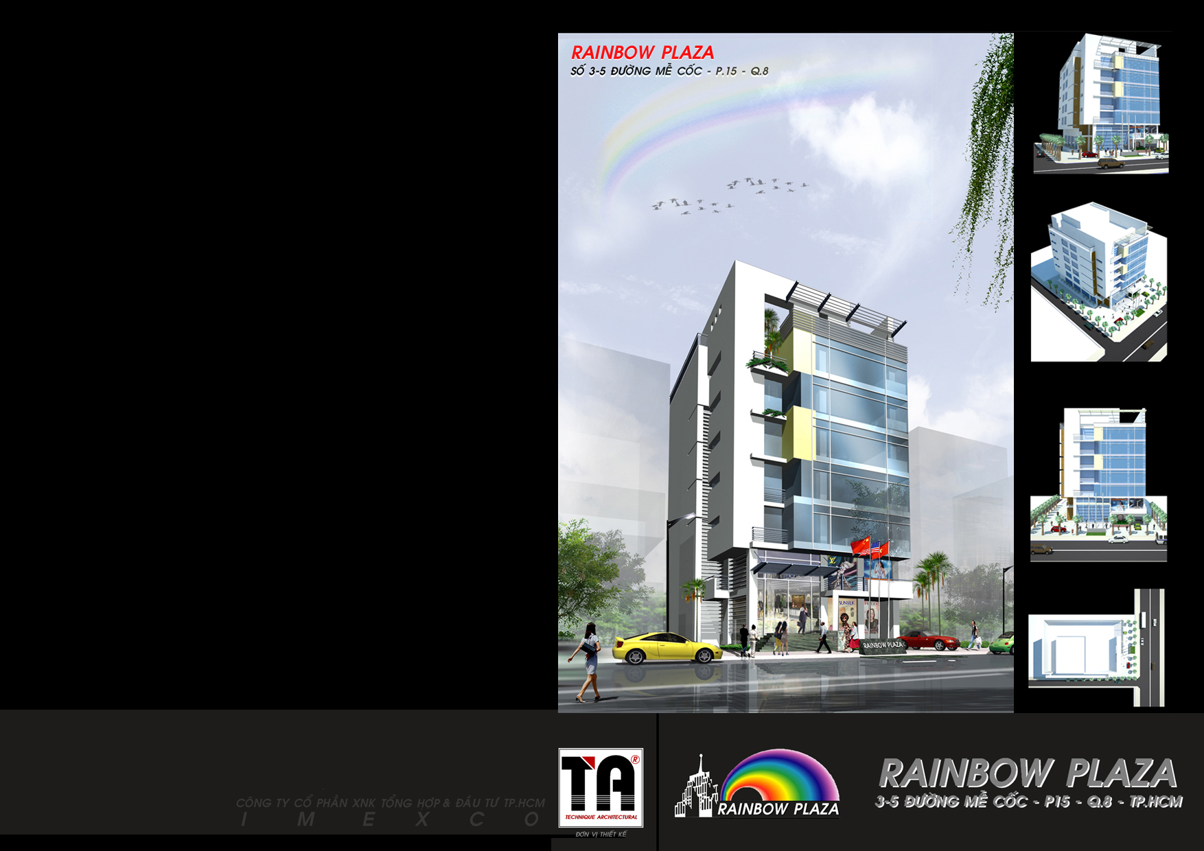 You are browsing images from the article: HÌNH ẢNH CHI TIẾT RAINBOW PLAZA